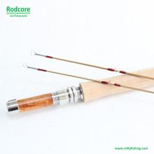 8FT 5wt Hexagon Tonkin Bamboo Fly Rod