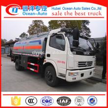 China Hubei DFAC camión cisterna de combustible / camión de recarga