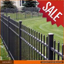 Fabrik Preis Residental New House Schmiedeeisen Zaun zum Verkauf