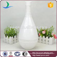 YSv-150 Jarrones de flor de cerámica blanca