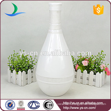YSv-150 White ceramic flower vases