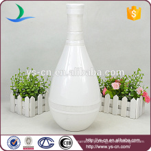 YSv-150 Vasos de flor de cerâmica branca