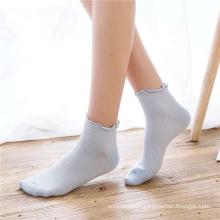 Japanese Style Breathable Non-slip Girl's Cotton Socks