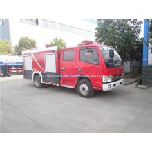 Dongfeng 3000 litros agua camión contra incendios