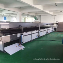 TM-IR6000 White Quartz Heating Tube IR Drying Tunnel Oven