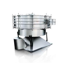 Large capacity tumbler vibrating screen for powder