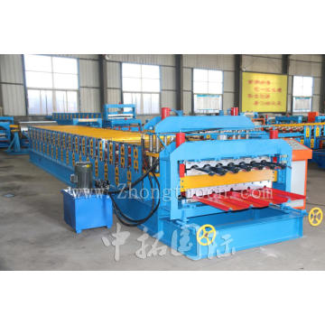 Double Layer ubin Mesin Roll Forming