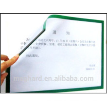 wholesale magnetic PVC pocket for school and office