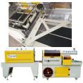 L forma cortador máquina de selagem automática para placa cerâmica bebidas metais com Sensor de foto célula e 3 lado Selem a embalagem