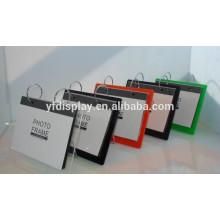 Bunter Acryl kundengebundener Foto-Rahmen