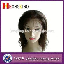 Perruque avant brésilienne de cheveux humains épais de Vierge faite en Chine