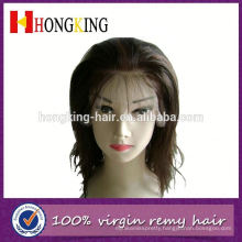 Virgin Brazilian Thick Human Hair Lace Front Wig Made In China