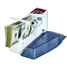 V40: portable mini bill money counter machine