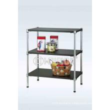 3 Tier Adjustable Graceful Wooden Furniture Storage Rack (CJ-B1190)