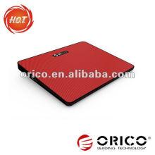 Bunte USB-Laptop-Kühlung Pad mit einem Fan super dünnen Design
