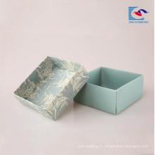 Boîtes d'emballage en carton de haute qualité pour les boîtes de savons en carton de savon hôtel
