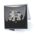 Crystal Elephant Compact Mirrors
