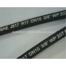 Industrial flexible rubber hose pipe braided rubber hose