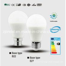Затемняемый светодиодные лампочки A60-Sblc