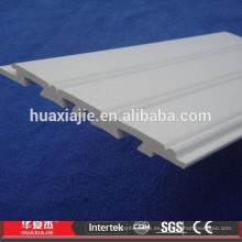 WPC / PVC impermeabilizan los paneles decorativos del wainscoting para el interior y el exterior