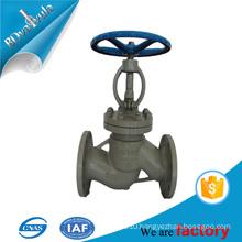 cast iron material used for steam globe valve