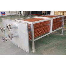 Bobinas del intercambiador de calor del tubo de cobre