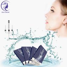 Hyaluronic acid dermal filler for lip filling