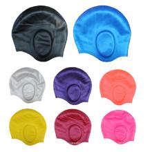 Gehörschutz Jeder Logo akzeptiert Silikon-Schwimmkappe