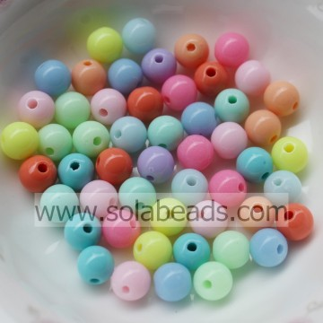 Chandelier 6mm Earring Round Bubble Ball Tiny beads