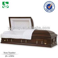 Cercueils et premium American rose intérieur moitié canapé cercueils