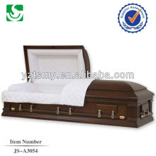Premium American rose interior half couch coffins and caskets