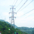 220 kV Corner Galvanized Power Transmission Tower