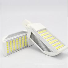 G24 / E27 7W LED Bombillas de Maíz Luz \ Lámpara de enchufe horizontal con Cubierta 5050SMD