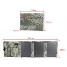 Carregador solar USB para viagem de 15W para iPhone