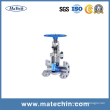 OEM Precision Stainless Steel 304 Water Grooved Motor Operated Gate Valve