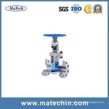 Válvula de portão de ângulo da válvula do amaciador da água do OEM com alta qualidade