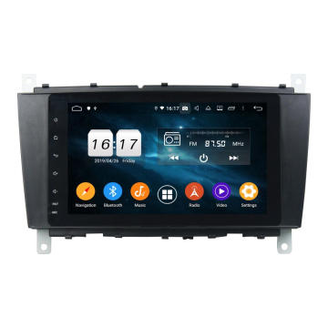 In dash car multimedia Android 9.0 C classe