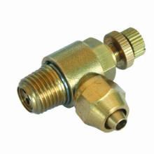 Pneumático/velocidade de encaixe encaixe do controle (plug no cotovelo)