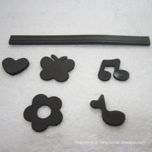 Aimant en caoutchouc avec différentes formes pour réfrigérateur et technique