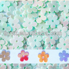 PVC Flower Sequins S259,Rainbow PVC Flower Sequins S90 , Multicolor Flower Shape Sequins