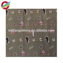 venta al por mayor hermosa cera africana imprime la tela para la ropa