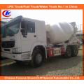 10 Wheeler Sinotruk 371HP 10cbm Cement Mixer Truck HOWO Concrete Mixer Truck