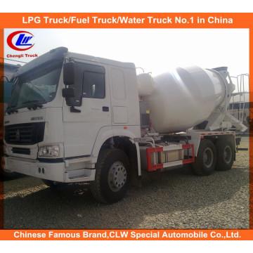 10 Wheeler Sinotruk 371HP 10cbm Camión mezclador de cemento HOWO Camión mezclador de hormigón