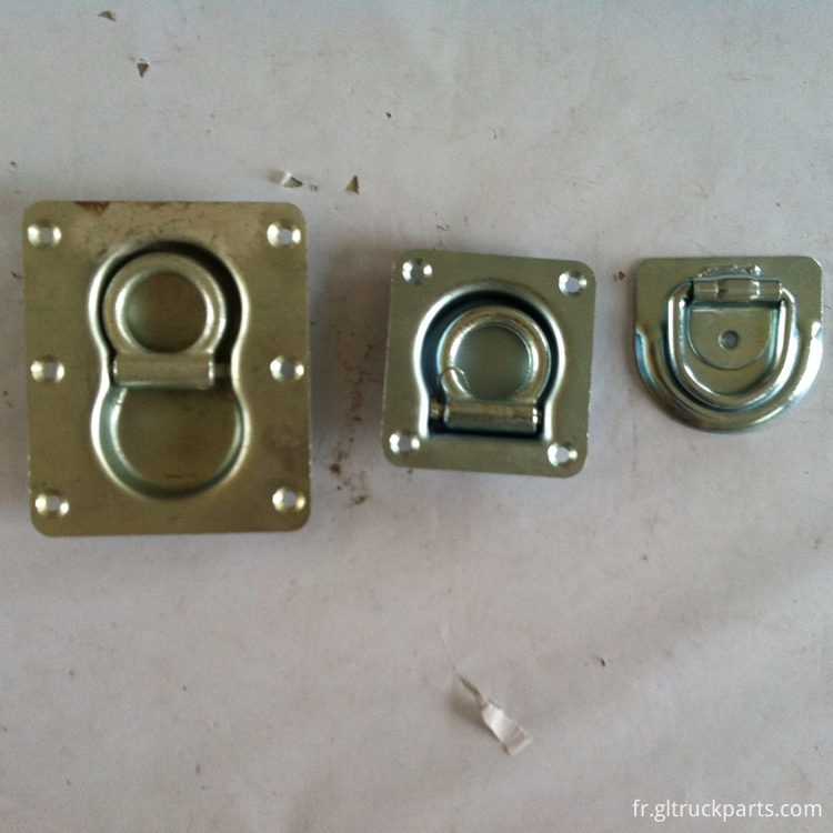 Steel Recessed Lashing Rings For Truck Body Hardware