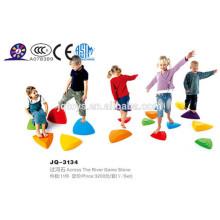 2016 Kids plastic across river stone toys
