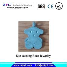 Die Casting Bear Jewelry (injeção zamak)