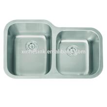 Edelstahl 304 Doppel Schüssel Küchenspülen