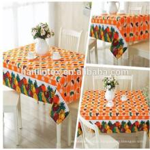 Hanlin Têxtil impresso 300D mini matt tecido para pano de mesa