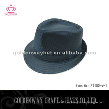 Sombrero negro de Fedora del Mens de la manera