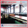 Ligne de production en composite en plastique en bois / PVC Ligne de production en composite composite en bois